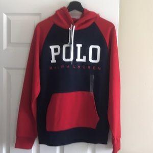 Polo Ralph Lauren Logo Hoodie Size M NWT